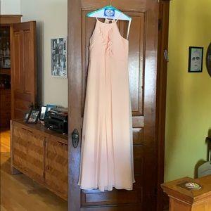Peach Azazie bridesmaid dress size 12